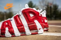 NIKE★人気レアモデル☆モアテン!GYM RED《AIR MORE UPTEMPO》