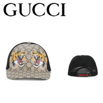 GUCCI(グッチ) GG Supreme baseball hat キャップ