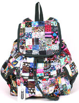 LeSportsac US限定 LE PATCH NEW S VOYAGER BACK PACK 7839-D863