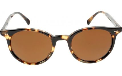 JustinBieber愛用☆OLIVER PEOPLES☆Delray Sunサングラス Brown