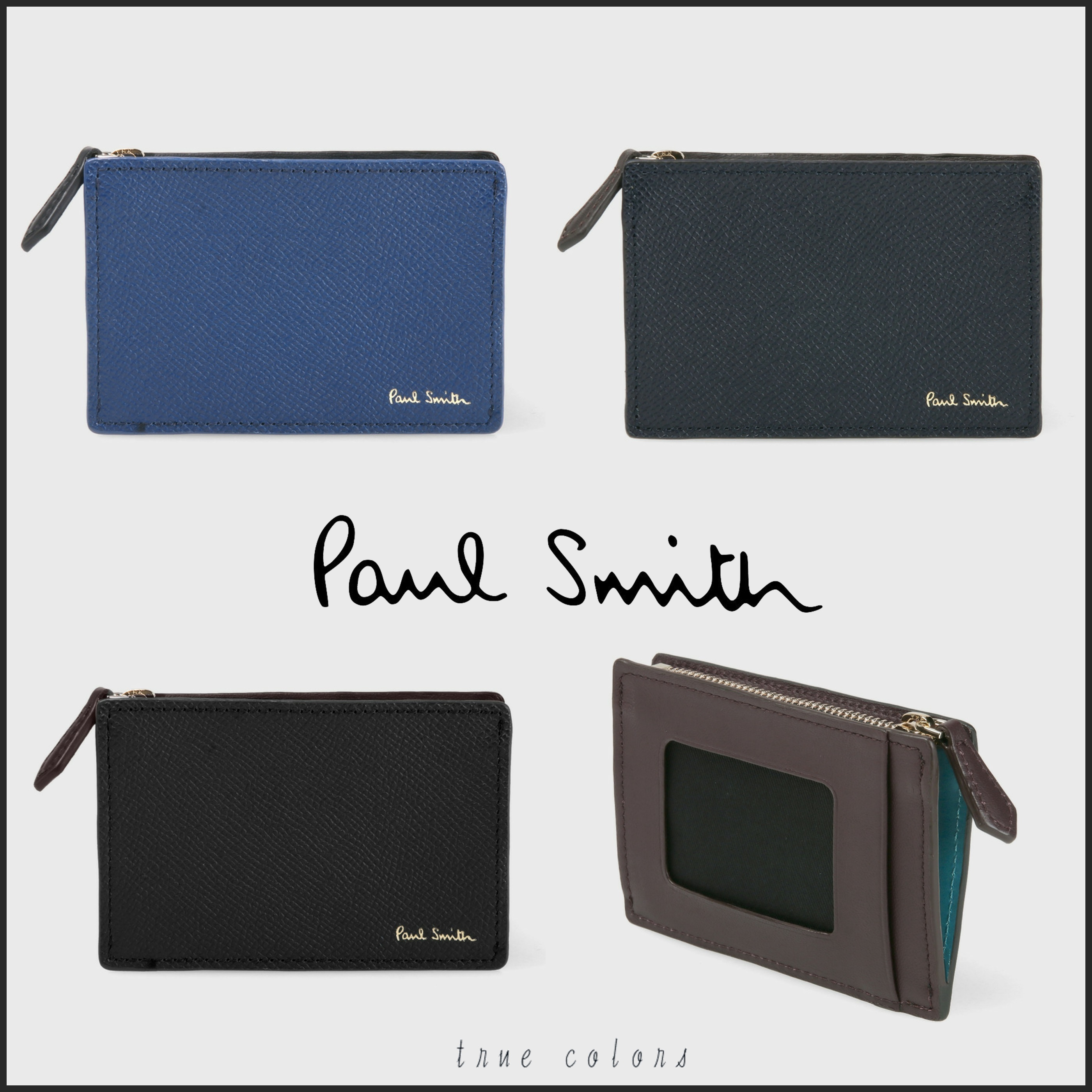 ◆Paul Smith◆カラーフラッシュ 定期入れ*2日以内発送