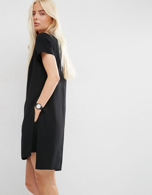 ☆ASOS Minimal Playsuit With Short Sleeve☆
