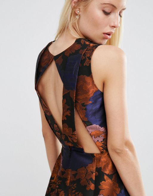 ☆ASOS Jacquard Playsuit With Back Detail☆