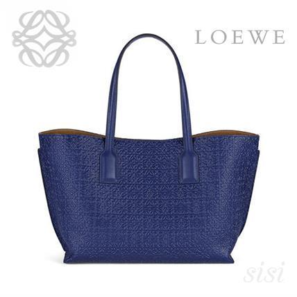 LOEWE★ロエベ T Shopper Bag Navy Blue