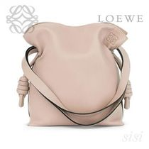 LOEWE★ロエベ Flamenco Knot Small Bag Ash