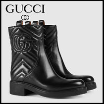 【GUCCI】 グッチ Matelasse ankle boot