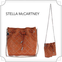 関税込☆Falabella studded quilted〜/Brandy/Stella McCartney
