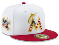 New Era Miami Marlins Americana Ultimate Patch 59Fifty