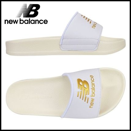 NEW BALANCE white series shower sandals
