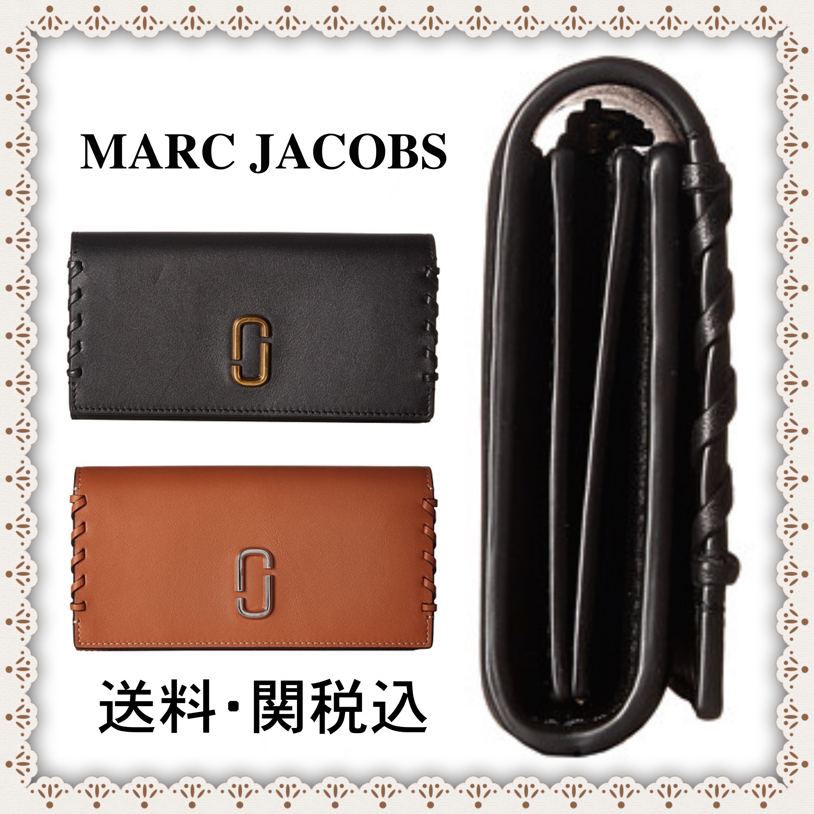 《関税・送料込み》♡ Marc Jacobs Noho Flap Continental