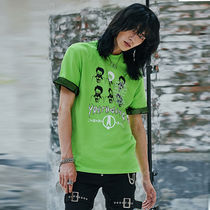 ANOTHERYOUTH(アナザーユース) Tシャツ・カットソー ★ANOTHERYOUTH★17ss  chain sid t - light green ユニセックス