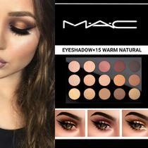 MAC☆ベストセラー EYESHADOW ×15 warm natural 15色