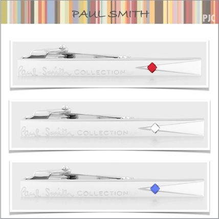Paul Smith Square Crystal tie bar