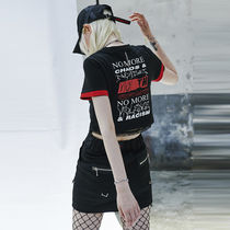 ANOTHERYOUTH(アナザーユース) Tシャツ・カットソー ★ANOTHERYOUTH★17ss  chain crop t - black