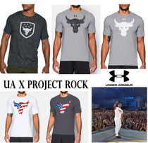 UNDER ARMOUR (アンダーアーマー ) Tシャツ・カットソー 海外限定★激レア UNDER ARMOUR UA x Project Rock Tシャツ4種類