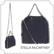関税込☆Falabella tiny tote in〜/navy blue/Stella McCartney
