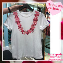 "【Hawaii限定☆新作】★kate spade ""exclusive"" T-shirts"