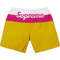 Sサイズ  17S/S Supreme Split Logo Water Short Gold