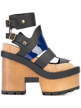 SACAI x Pierre Hardy wedges sandals