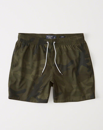 【Abercrombie】PRINTED TRUNKS