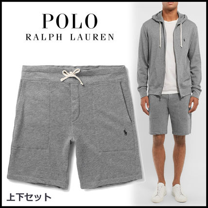 NEW Ralph Lauren cotton Hoodie + shorts and down set