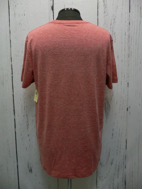 LUCKY BRAND プリント Tシャツ サーモンレッド (8314)