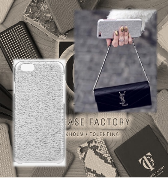 THE CASE FACTORY★IPHONE6 6S PLUS ★ METALLIC BUFFALO SILVER