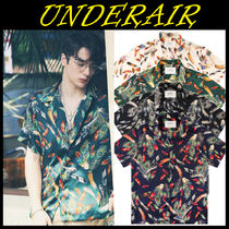 無料配送★UNDERAIR★Flame of Peacock Shirts 4色
