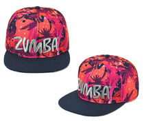 新作♪Zumbaズンバ Bonfire Babe Snapback Hat- Shocking Pink