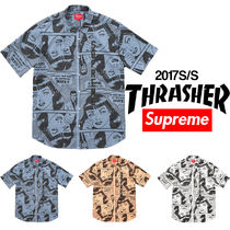 Supreme Thrasher Short Sleeve Shirt シュプリーム 送料込