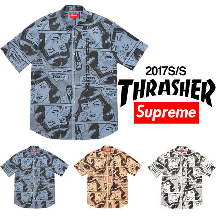 Supreme Thrasher Short Sleeve Shirt
