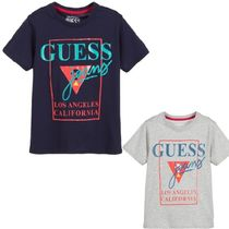 【Guess☆送関込】大人もOK*ロゴ Tシャツ/2color