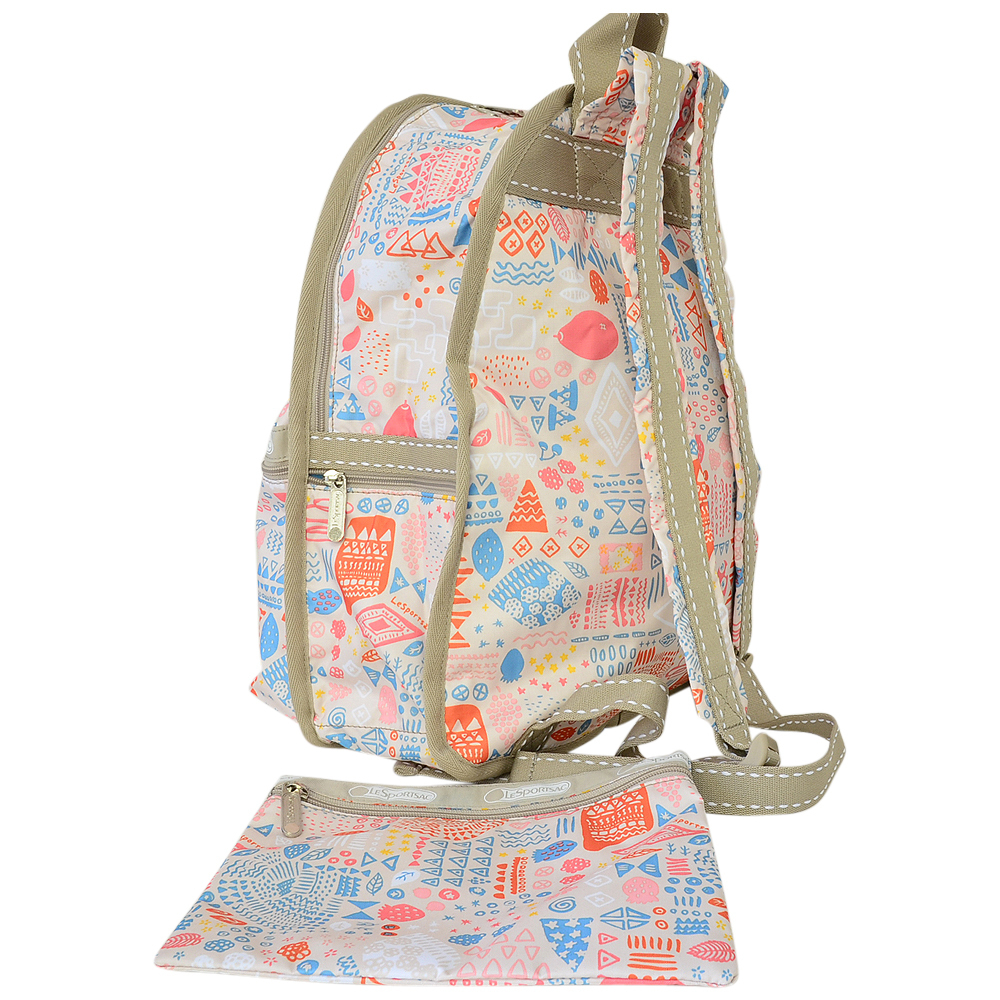 ● LeSportsac BASIC BACKPACK 7812 D729 BERRIES ●