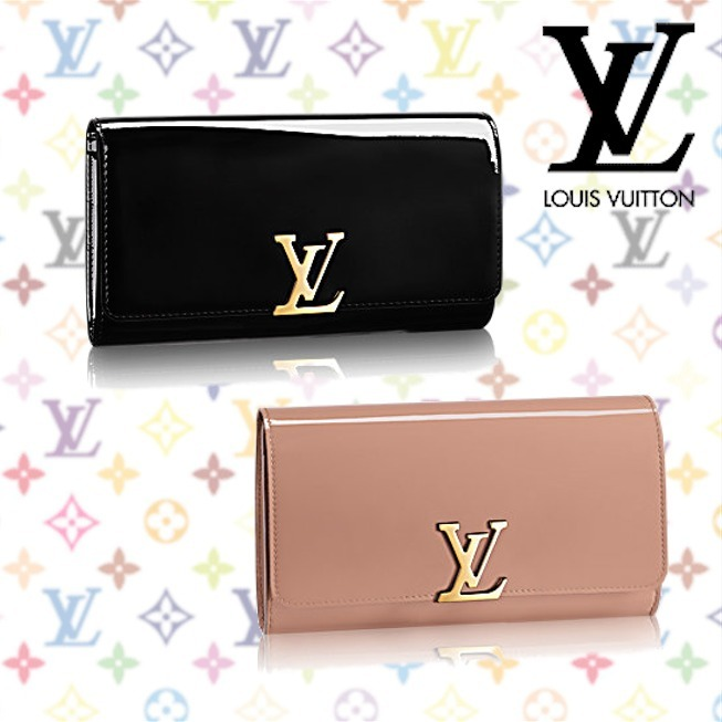 ★Louis Vuitton新作SS★CLUTCH LOUISE EW Nude Nero 選べる2色