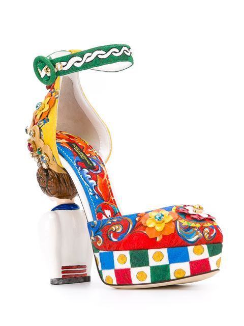 DOLCE & GABBANA  Carretto Siciliano 80995 MULTICOLOR