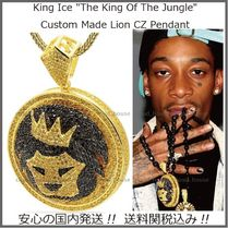 【King Ice】The King Of The Jungle☆Lion CZ Pendant 送料税込