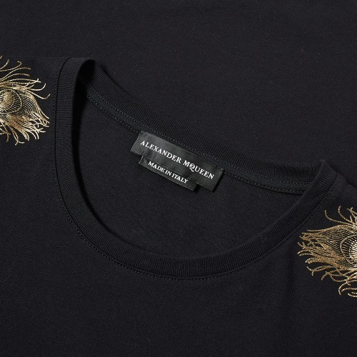 ★alexander mcqueen OLD FEATHERS Tシャツ 関税込★