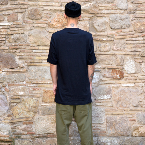 FAITH CONNEXION MENS OVERSIZE T-SHIRT BLACK [2017SS]