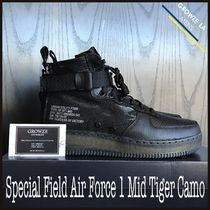 ★【NIKE】US8 26cm Special Field Air Force 1 Mid Black Camo