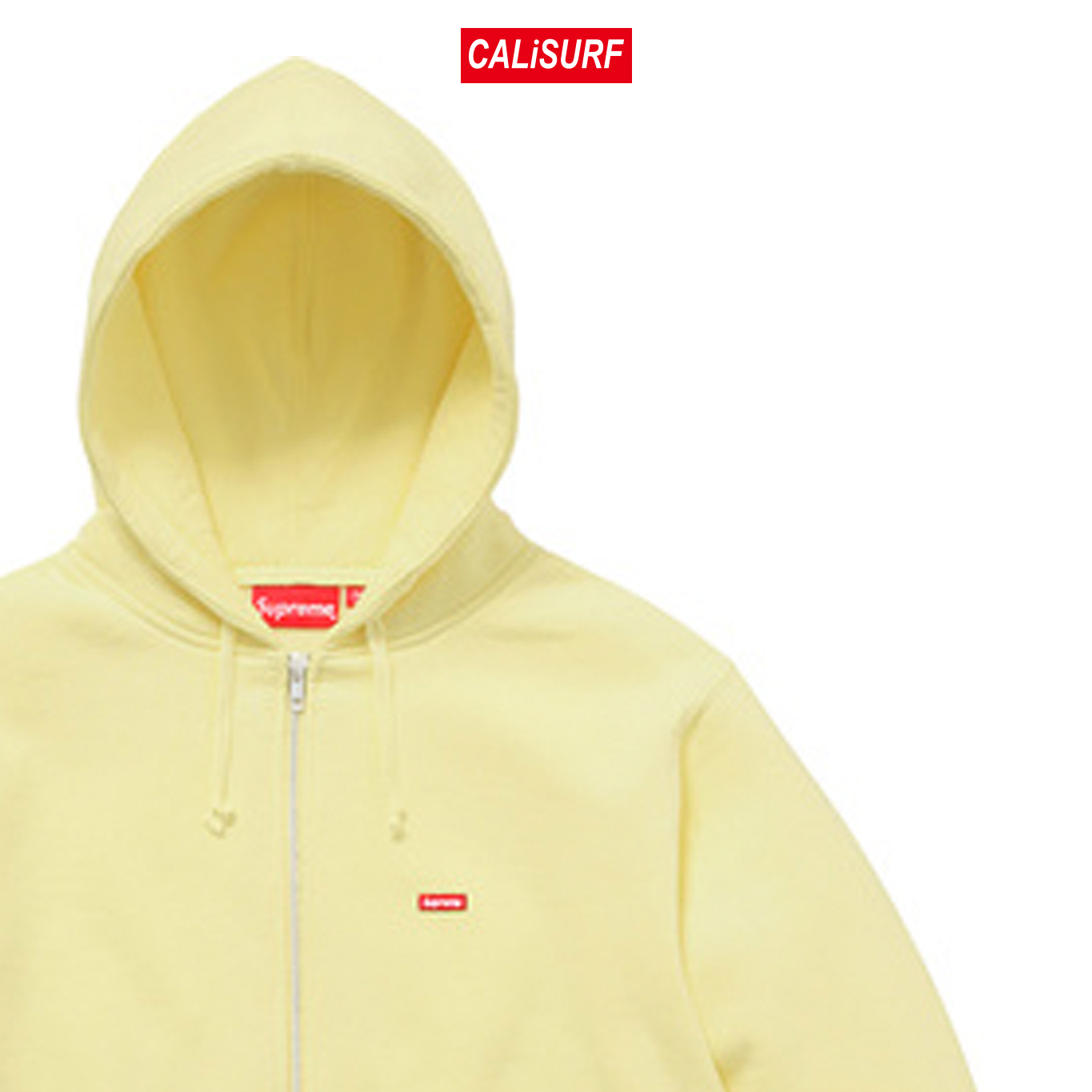 Mサイズ Supreme(シュプリーム) SMALL BOX ZIP UP SWEAT/YELLOW