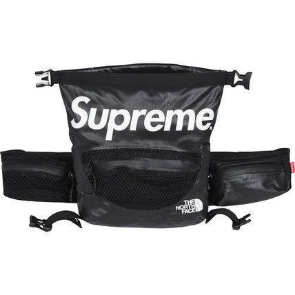 Supreme×the North Face Waterproof Waist Bag