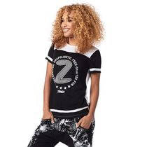 国内在庫 ズンバ Zumba Free Tee Back to Black