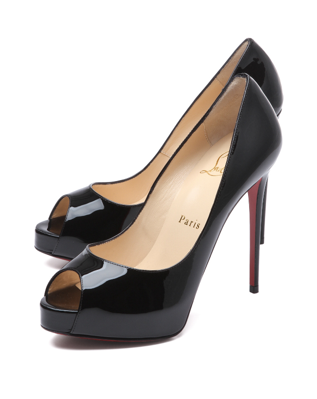 Christian Louboutin パンプス ブラック NEW VERY PRIVE