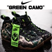 "【国内発送】AIR FOAMPOSITE PRO PRM LE ""GREEN CAMO"""