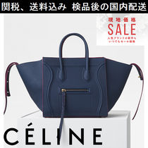 ★関税送料込み! CELINE medium luggage phantom  Steel blue