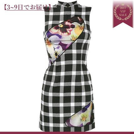 Floral and plaid day dresses