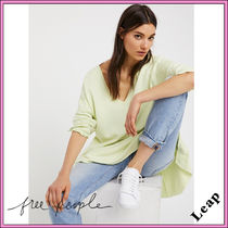 【Free People】 大人気☆New Morning Eyes Pullover キウイ◎