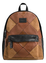☆COACH☆CAMPUS BACKPACK in mixed canyon quilt leather