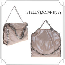 関税込☆Falabella fold over tote〜☆beige☆Stella McCartney