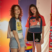 OoH AHh(ウーアー) Tシャツ・カットソー ◇OoH HAh◇ 17ss  GIRLS CROP T-SHIRT (2色展開)
